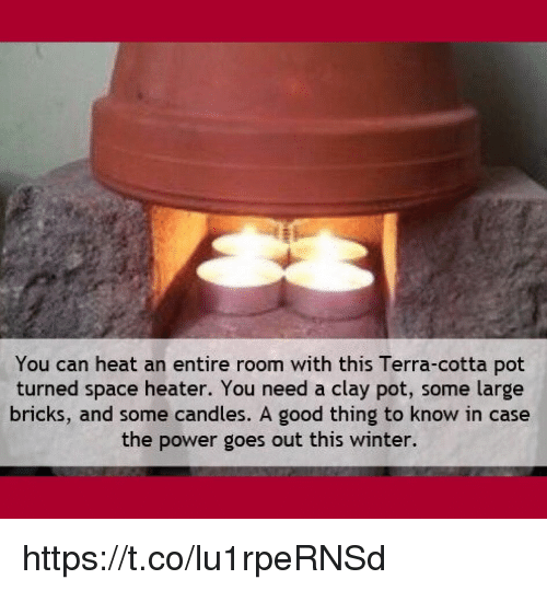 You Can Heat An Entire Room With This Terra-Cotta Pot
