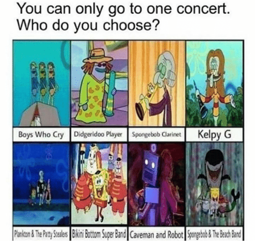 9cedd5c81 You Can Only Go to One Concert Who Do You Choose? Boys Who Cry ...