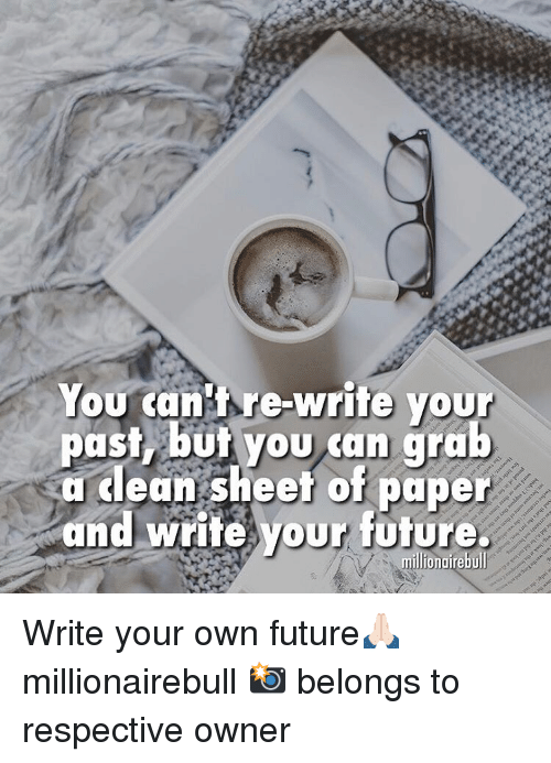 write your own paper