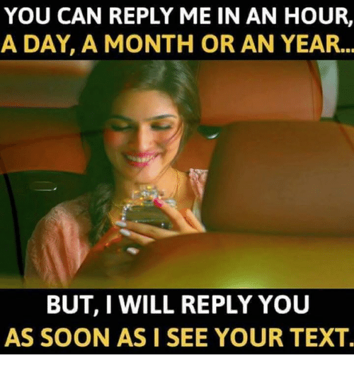 I Will Reply