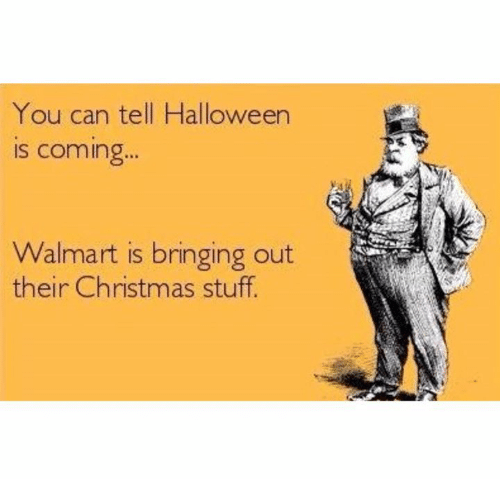 Image result for christmas walmart halloween