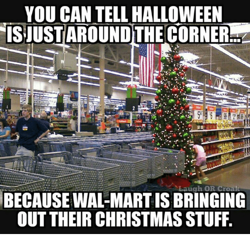 christmas halloween and memes you can tell halloween isjustaround the corner laugh or