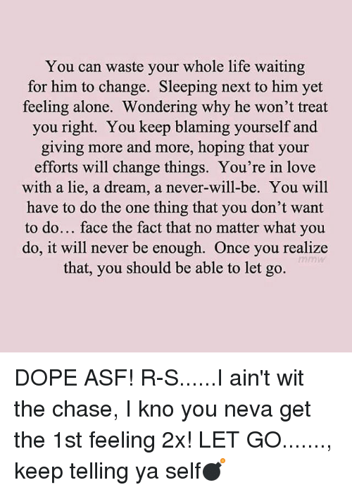 let him chase you