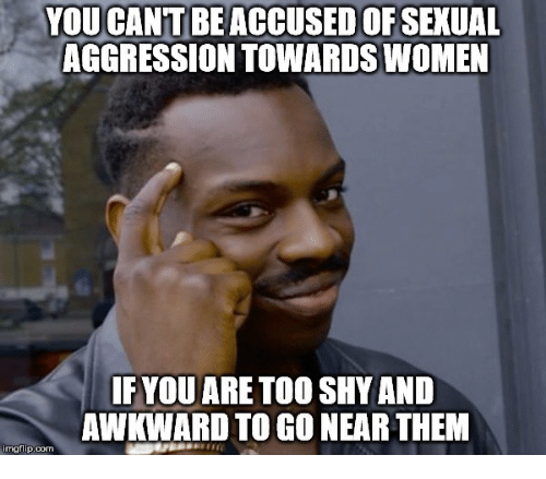 why are women shy