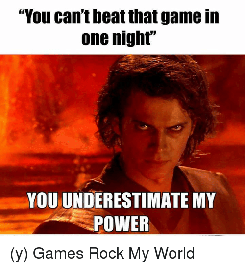 25+ Best Memes About You Underestimate My Power | You ...