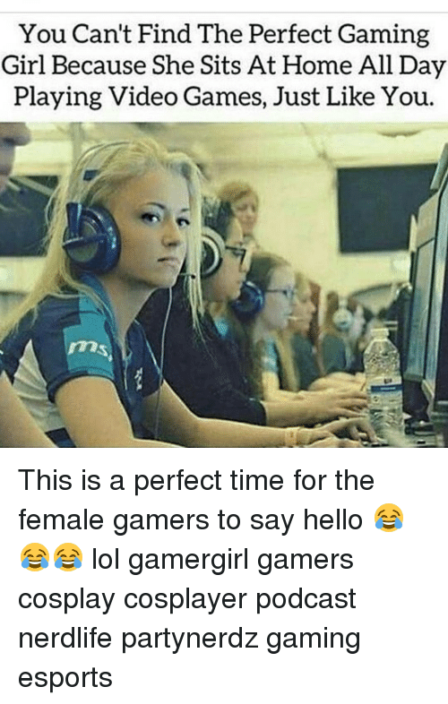 how to find a gamer girl