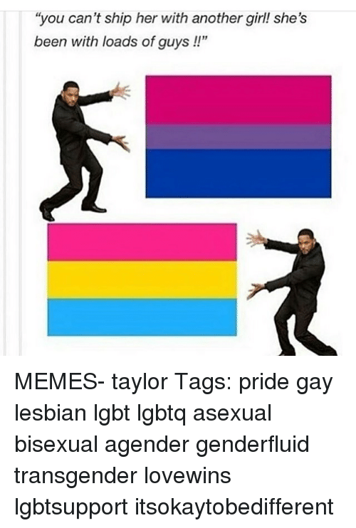 Asexual girl meme