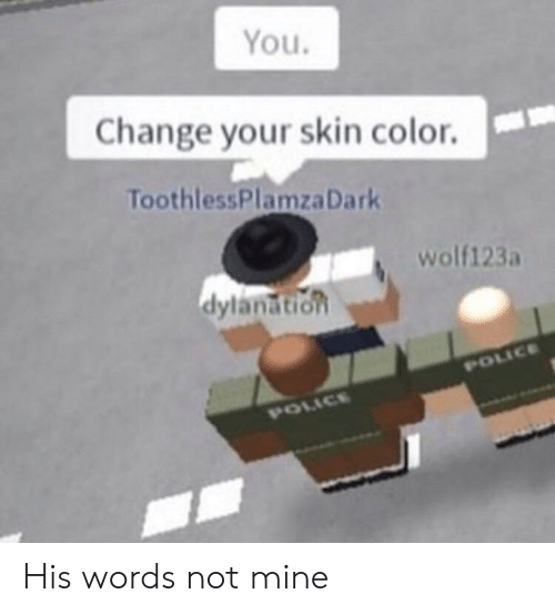 You Change Your Skin Color ToothlessPlamzaDark Wolf123a