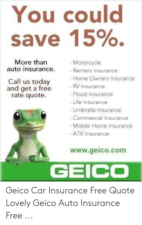 You Could Save 15 More Than Motorcycle Auto Insurance Renters Insurance Home Owners Insurance Call Us Today And Get A Free Rate Quote Rv Insurance Flood Insurance Life Insurance Umbrella Insurance