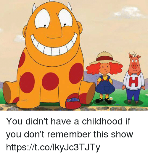 Memes, 🤖, and Remember: You didn't have a childhood if you don't remember this show https://t.co/lkyJc3TJTy