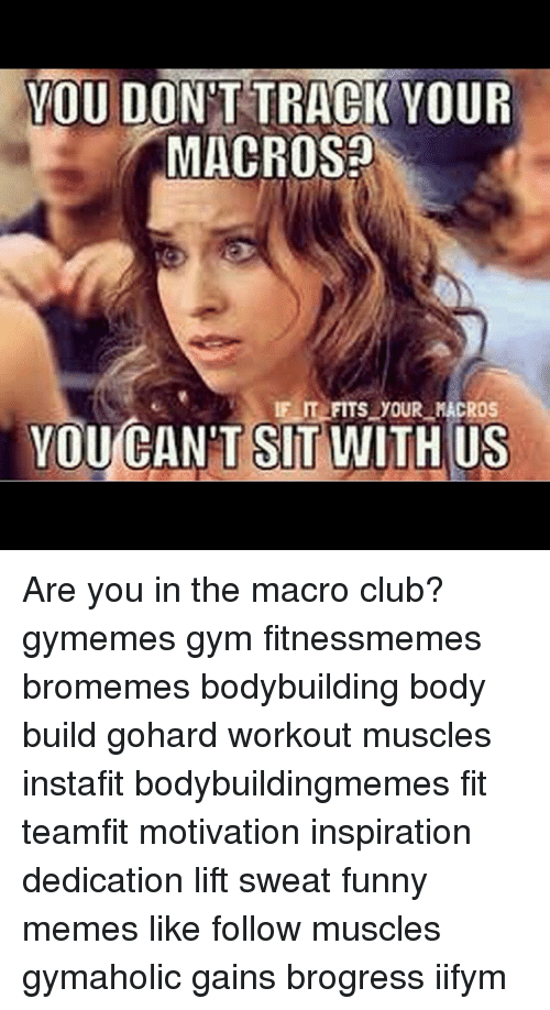 If IT FITS YOUR MACROS EAT THAT SHIT Too Soon? For Those
