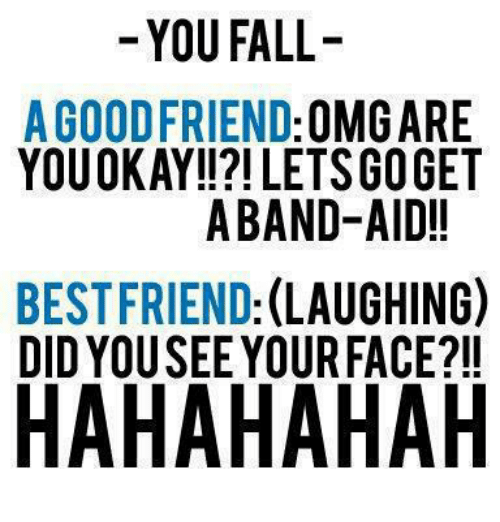 Falling For Your Best Friend Quotes: 25+ Best Memes About Friends Laughing