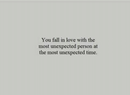 Fall, Love, and Time: You fall in love with the  most unexpected person at  the most unexpected time.