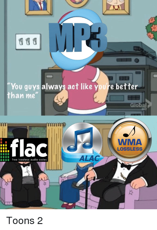 You Guys Always Act Like Youre Better Than Me IIT Flac WMA LOSSLESS