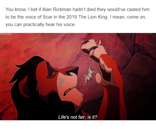 You Know I Bet If Alan Rickman Hadnt Died They Wouldve