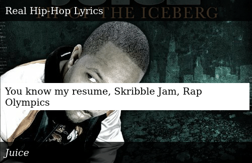 You Know My Resume Skribble Jam Rap Olympics | Donald Trump