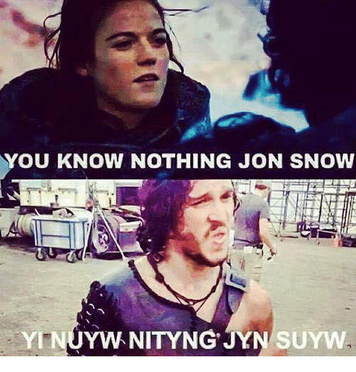 you know nothing jon snow yinuywnityngjynsuyw 6906259 you know nothing jon snow yinuywnityng'jynsuyw meme on me me