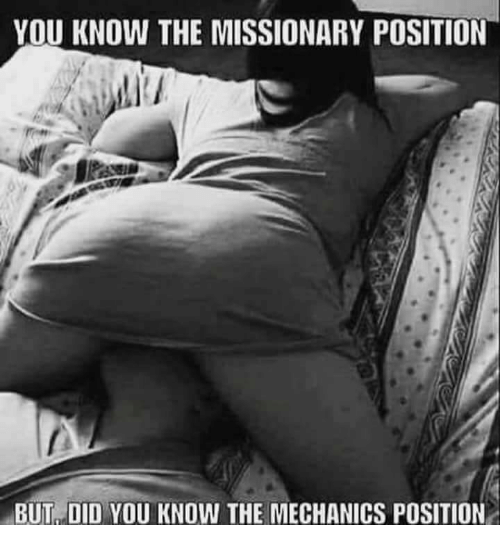 What? consider, Classic missionary position sorry, that