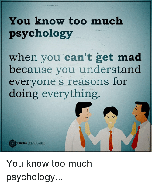 You Know Too Much