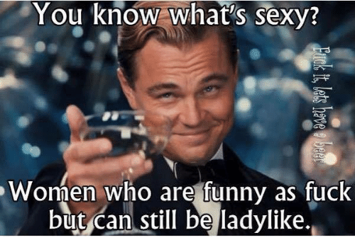 you are sexy as fuck