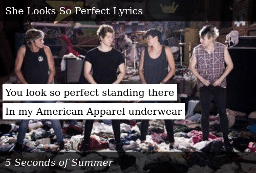 You Look So Perfect Standing There In My American Apparel Underwear Donald Trump Meme On Me Me