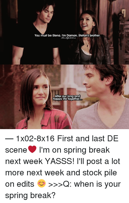 Is damon and elena dating in real life 2020
