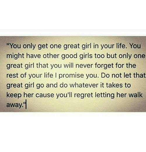 Get a great girl