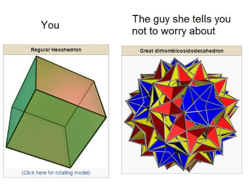 25 Best Great Dirhombicosidodecahedron Memes