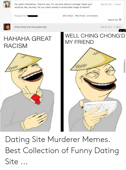 dating site match friend enemy