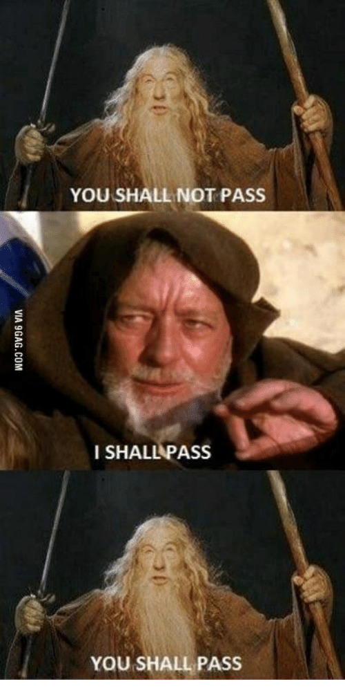 you shall not pass deutsch