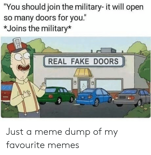 You Should Join the Military- It Will Open So Many Doors for
