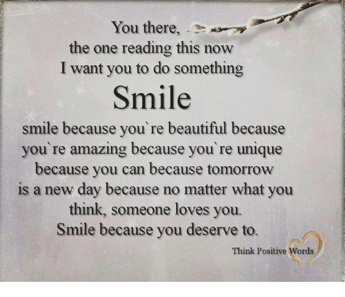 You Re Amazing Words: You There The One Reading This Now I Want You To Do
