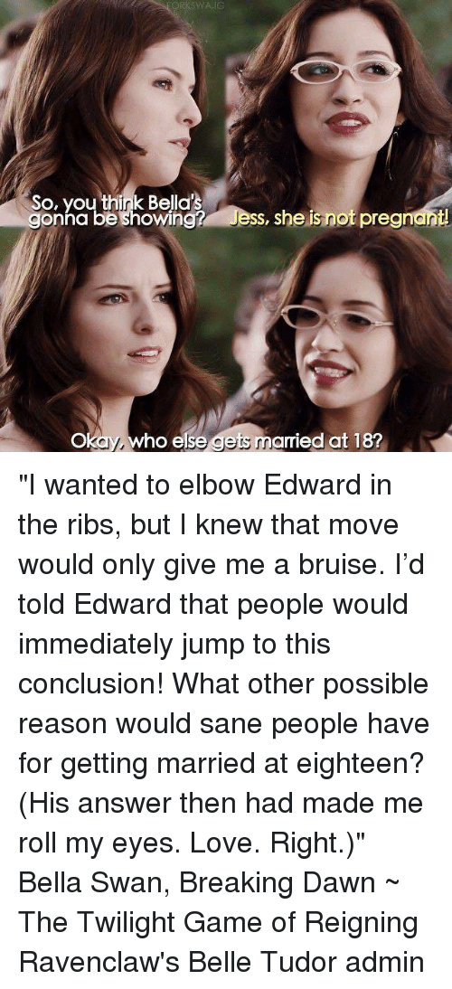 bella swan and edward cullen relationship memes