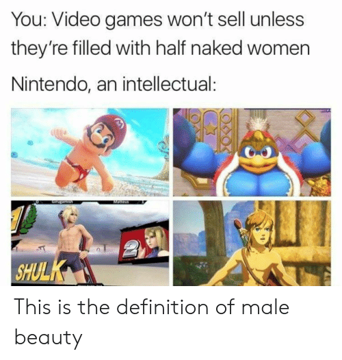 You Video Games Won't Sell Unless They're Filled With Half