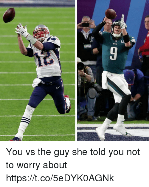 Nfl, She, and You: You vs the guy she told you not to worry about https://t.co/5eDYK0AGNk