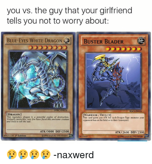 Dank Monster And Blue You Vs The Guy That Your Girlfriend Tells
