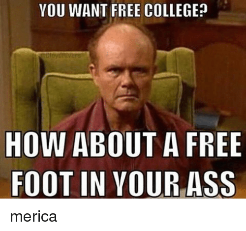 Free college ass