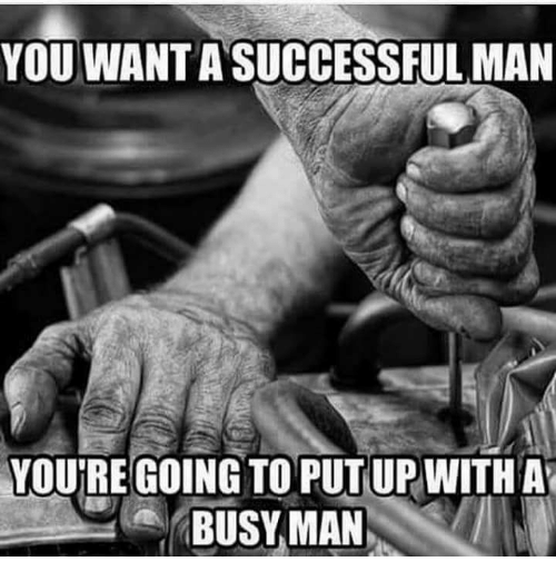 Dating a successful busy man