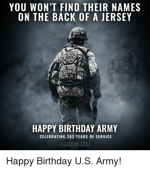 25+ Best Memes About Army, Birthday, And Happy Birthday