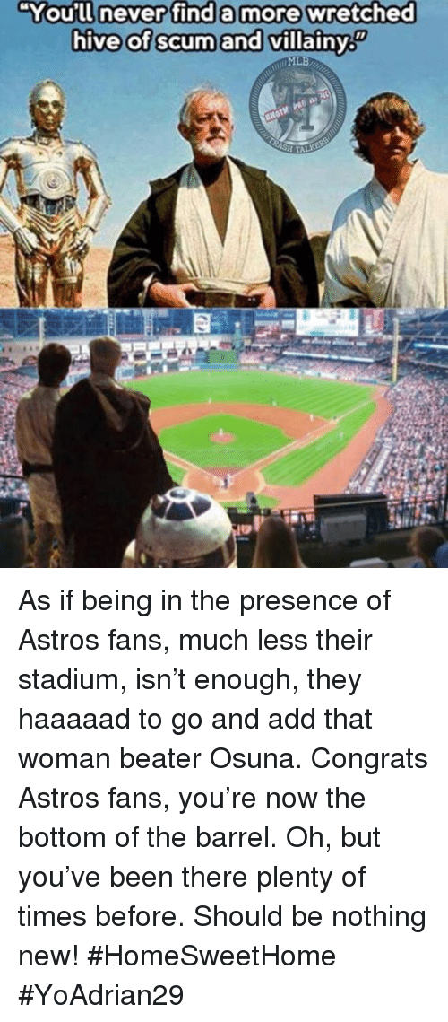 You'll| Nevenfind a More Wretched Hive of Scum and Villainy MLB HTA