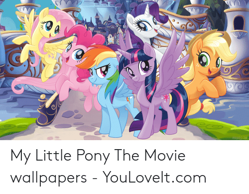 Youloveit Com My Little Pony The Movie Wallpapers