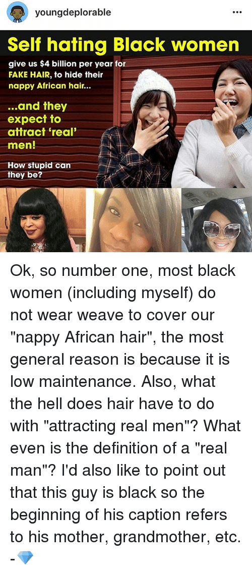 Young Deplorable Self Hating Black Women Give Us 4 Billion Per Year