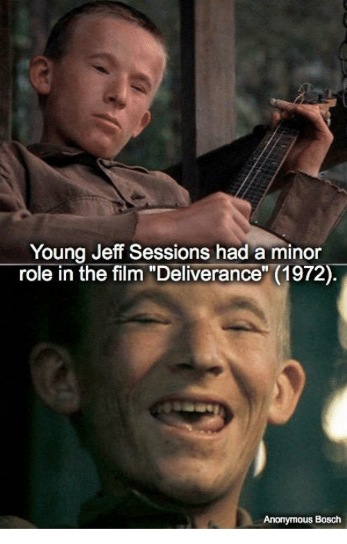 young jeff sessions had a minor role in the film 20274089 young jeff sessions had a minor role in the film deliverance 1972