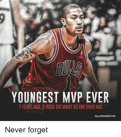 a9c342941de6 YOUNGEST MVP EVER 7 YEARS AGO D-Rose DID WHAT NO ONE EVER HAS Never ...