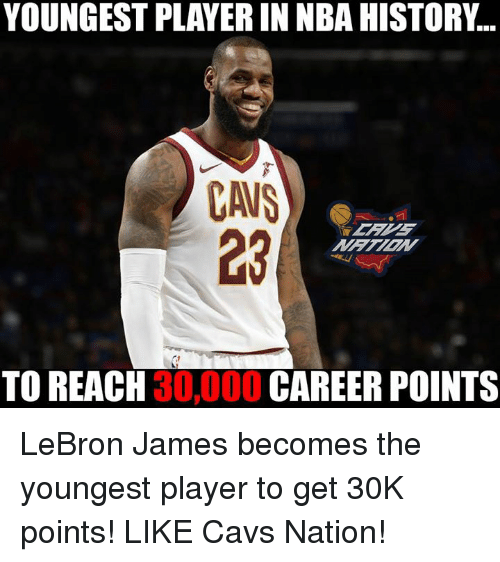 2be468b3aded YOUNGEST PLAYER IN NBA HISTORY CAUS 23 TO REACH 30000 CAREER POINTS ...