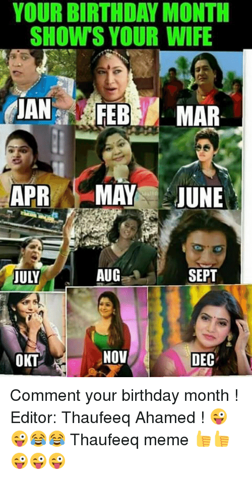 Funny Birthday Month Memes of 2017 on me.me   Its My ...