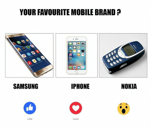your favourite mobilebrand iphone samsung like love nokia 6038527 ✅ 25 best memes about nokia nokia memes,Nokia Connecting People Meme