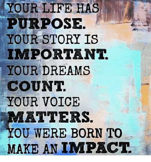 impact on a significant experience on your life Why my college experience has been my most valuable  but often, it is not until your adult life that you go through many of your most valuable events some, for .