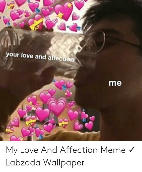 Your Love And Affection Me My Love And Affection Meme Labzada Wallpaper Love Meme On Me Me
