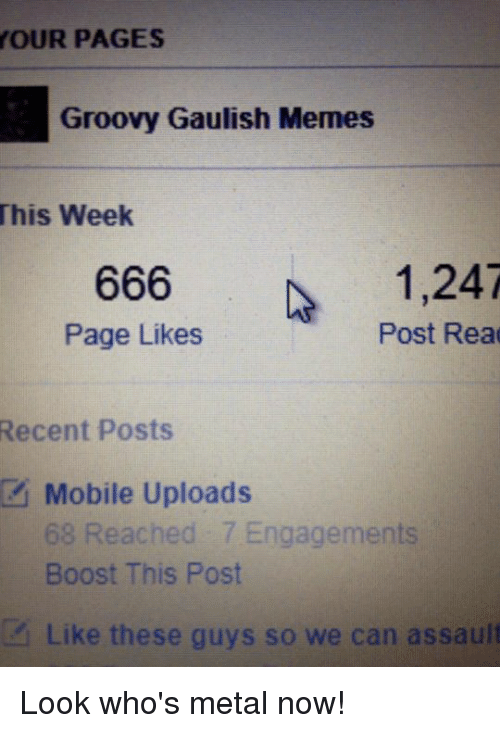 your pages groovy gaulish memes this week 666 1 247 page 1129579 ✅ 25 best memes about groovy gaul groovy gaul memes,Boost Mobile Meme